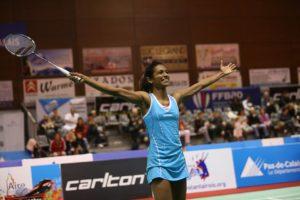 Sashina Vignes Waran - Championne de France 2015 - badminton